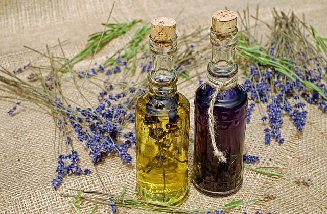 koupelový olej s levandulí